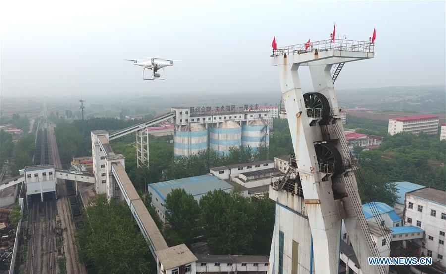 In pics: drones embedded in many sectors of people's lives in China