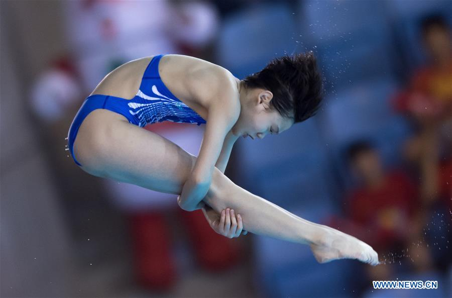 (SP)CHINA-WUHAN-DIVING-FINA-WORLD CUP (CN)