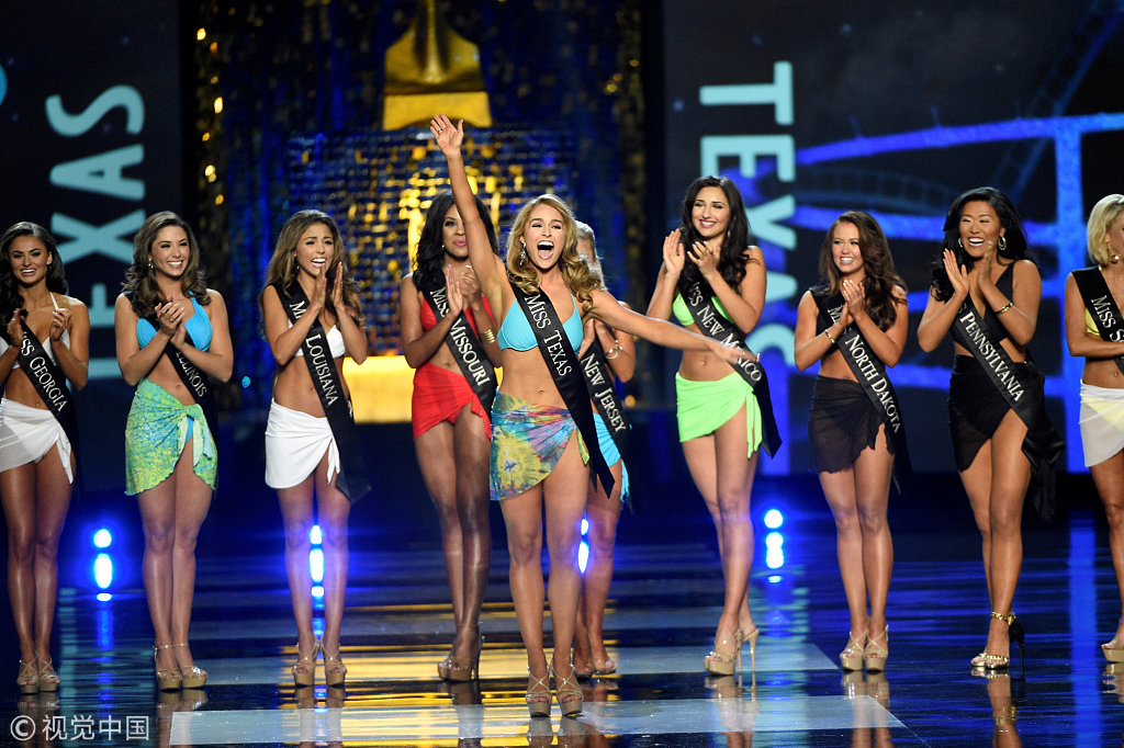 Miss America drops swimsuits, evening gowns