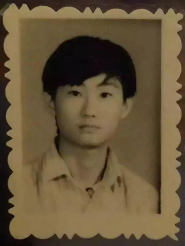 Ma Huateng at a young age [Photo: sohu.com]