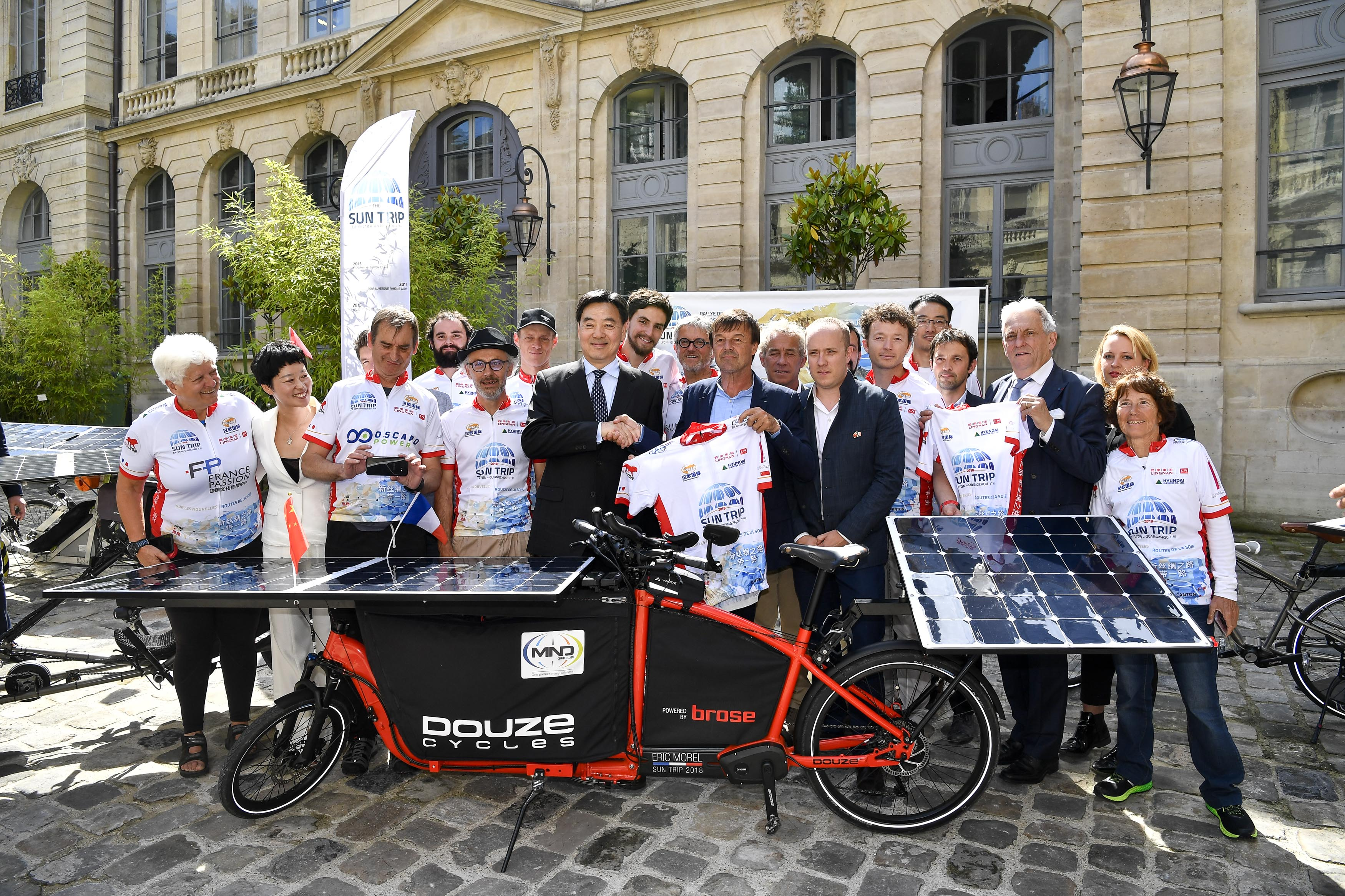 2018 Sun Trip cycling challenge to kick off in France