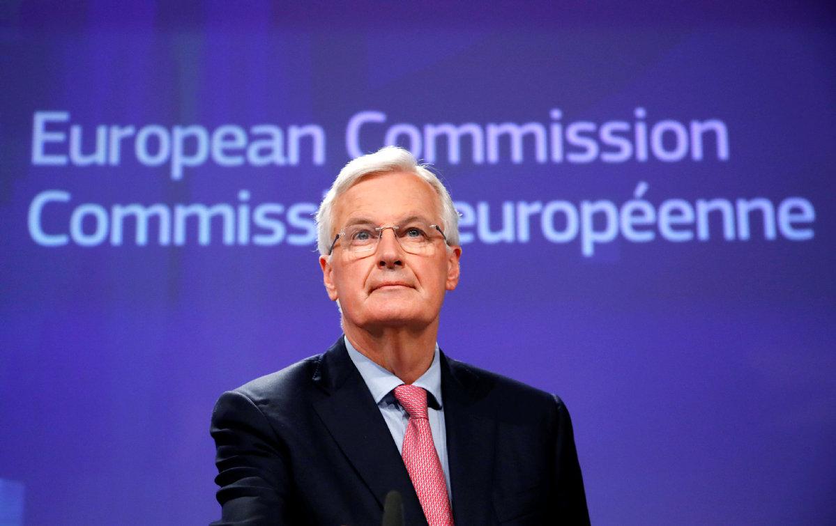 Irish border 'backstop' fix cannot be for whole of UK :EU's Barnier