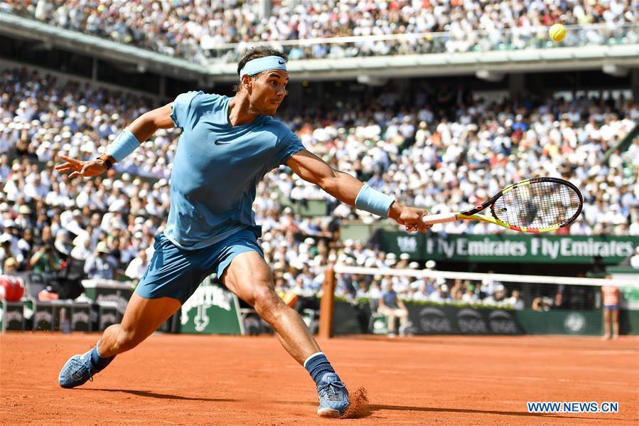 Rafael Nadal beats Juan Martin Del Potro 3-0 at French Open men's singles semifinal