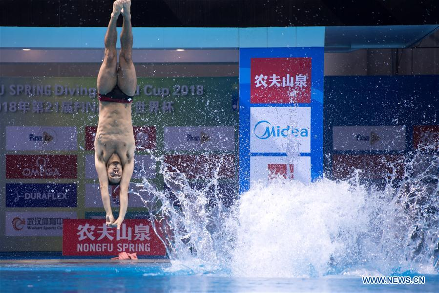 Highlights of mixed 3m synchronised final at FINA Diving World Cup 2018