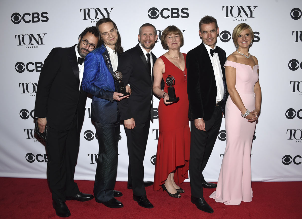 Winners announced for 72nd annual Tony Awards