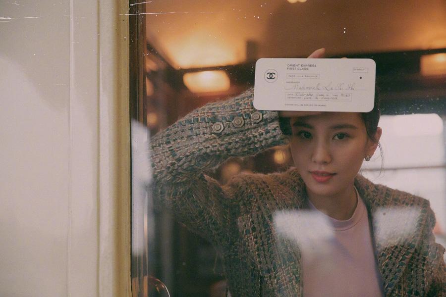 Actress Liu Shishi releases fashion shoots