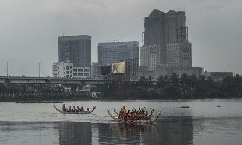 Chinese Dragon Boat Festival held in Kolkata, India