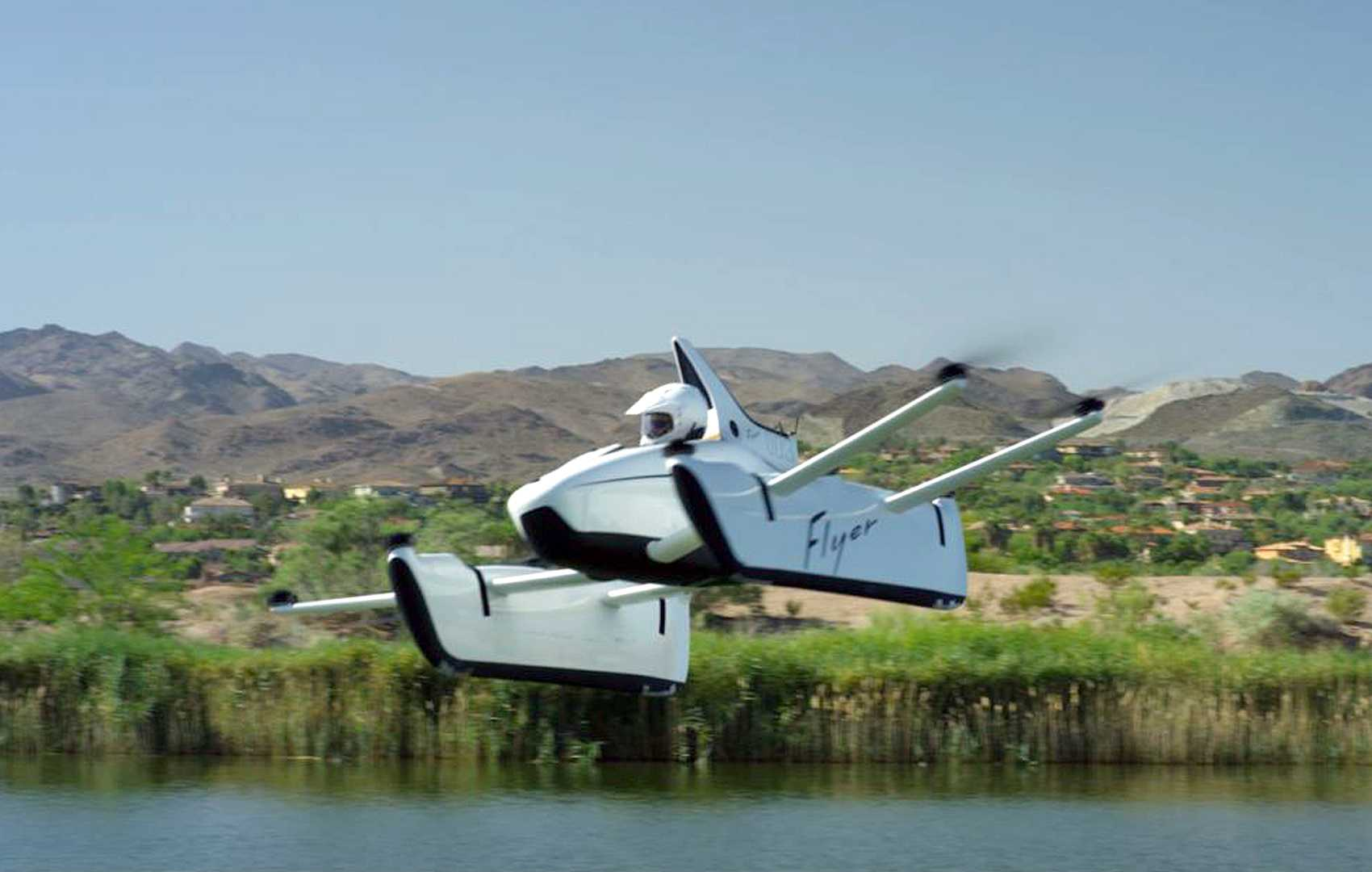Kitty Hawk's personal flying vehicle takes to the skies