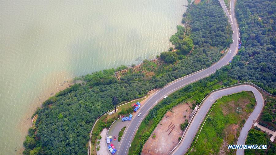 Scenery of Taihu Lake in Suzhou City, east China