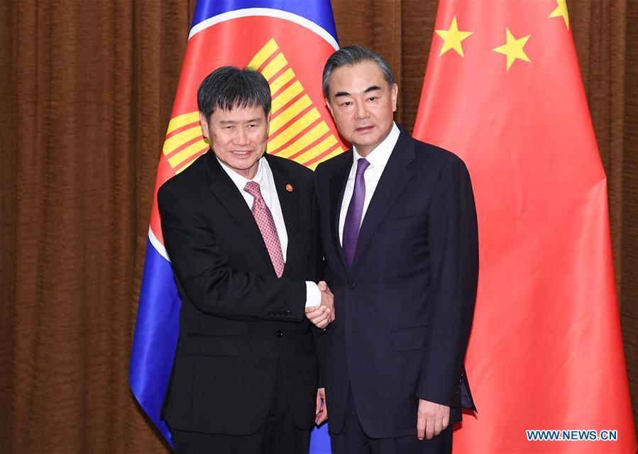 Wang Yi meets ASEAN secretary general in Beijing