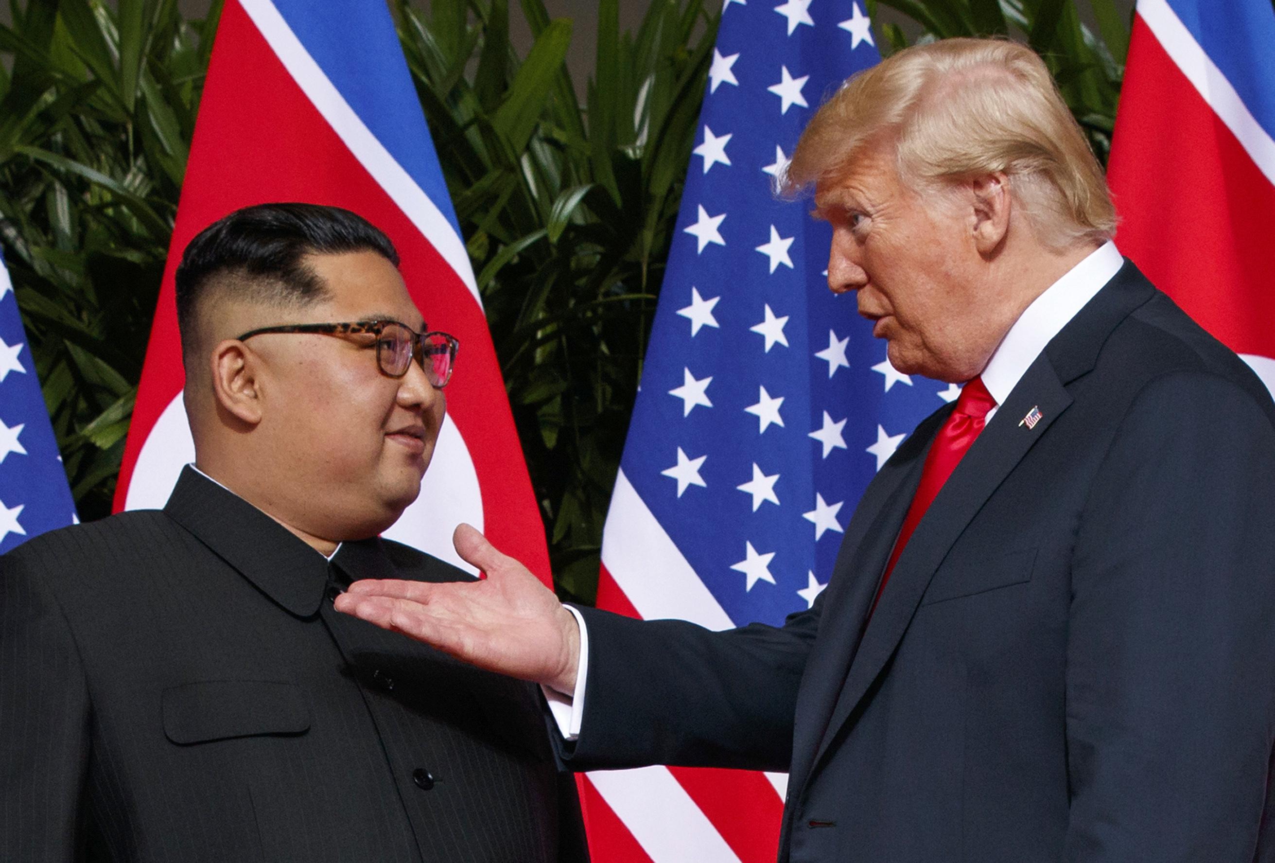 Trump says North Korea no longer 'nuclear threat'
