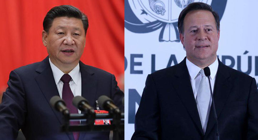 Xi, Panamanian president mark 1st anniversary of diplomatic ties