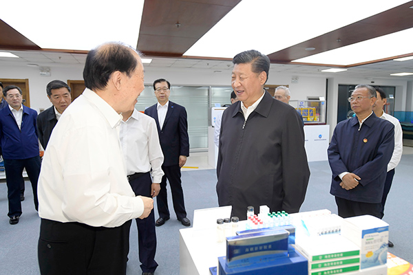 President Xi inspects East China's Shandong Province
