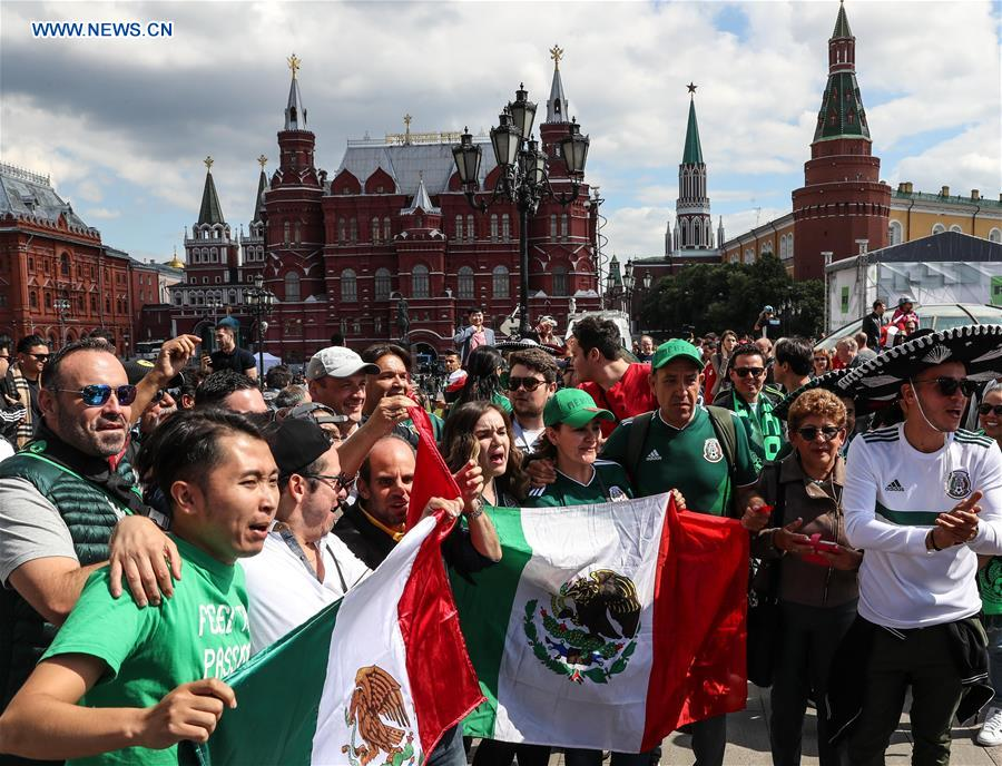 Feature: Feel football fans' enthusiasm ahead of World Cup