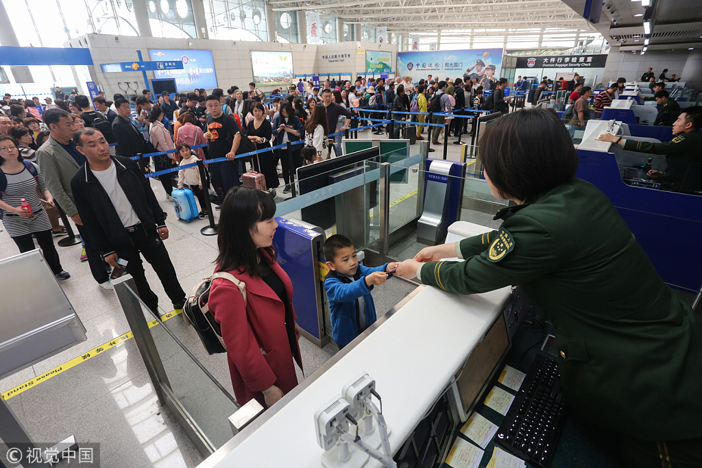 30-minute customs clearance expected