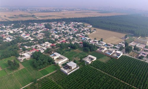 Ecological environment, living quality improved in Neiqiu County, N China