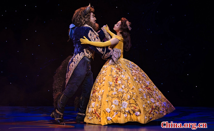 'Beauty and the Beast' musical dazzles Chinese audience
