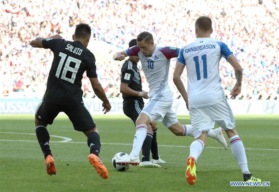 World Cup: Argentina draws with Iceland 1-1