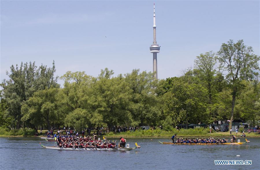 (SP)CANADA-TORONTO-INTERNATIONAL DRAGON BOAT RACE FESTIVAL