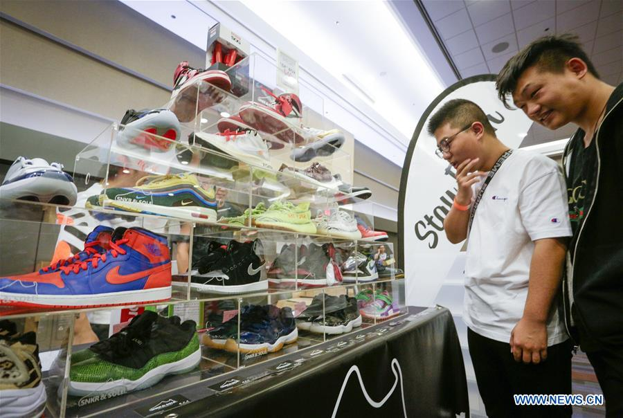 3rd annual Ultimate Sneaker Show held in Vancouver