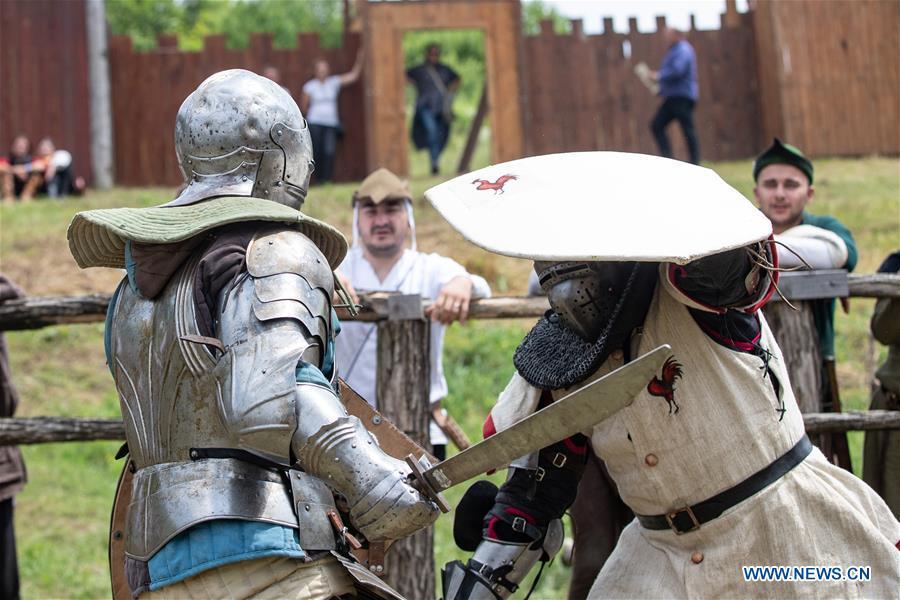 12th Int'l Knights Tournament held in Sveti Ivan Zelina, Croatia