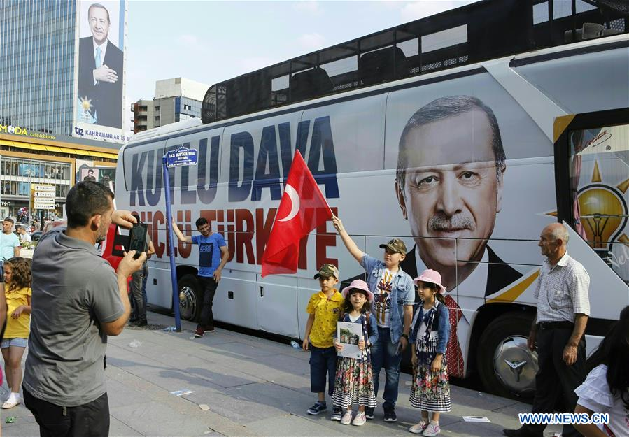 Turkey to hold snap presidential and legislative elections in late June