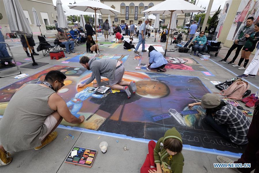 U.S.-LOS ANGELES-CHALK FESTIVAL