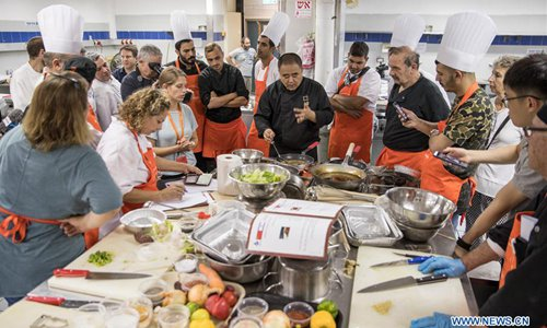 Israeli chefs learn to cook Chinese cuisine to better serve Chinese tourists