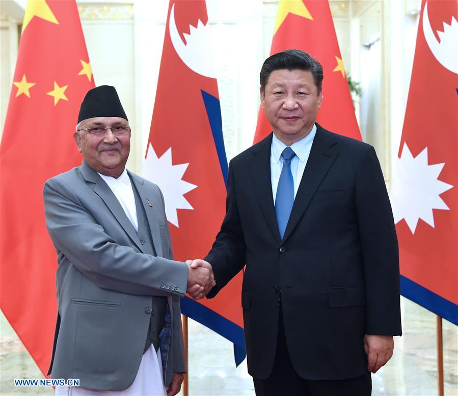 Xi says China to enhance mutually beneficial cooperation with Nepal
