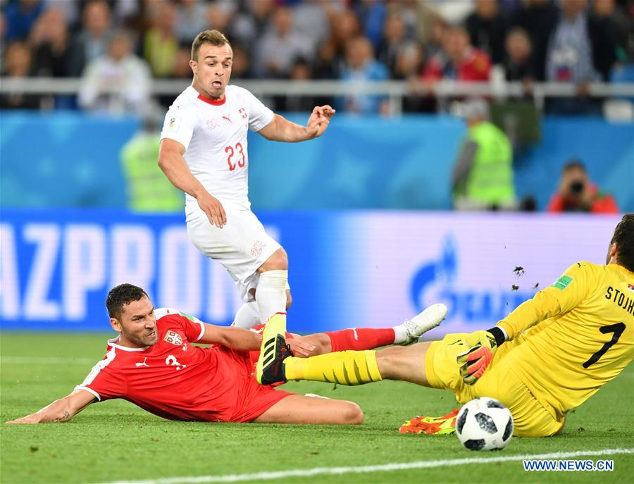 World Cup: Switzerland beats Serbia 2-1