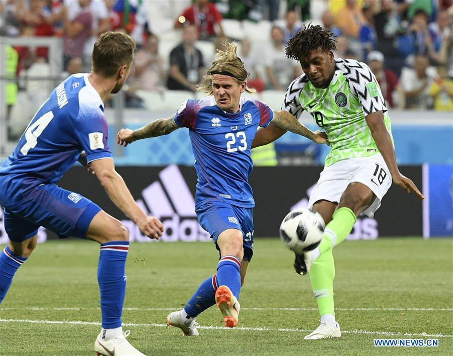 World Cup: Nigeria defeats Iceland 2-0