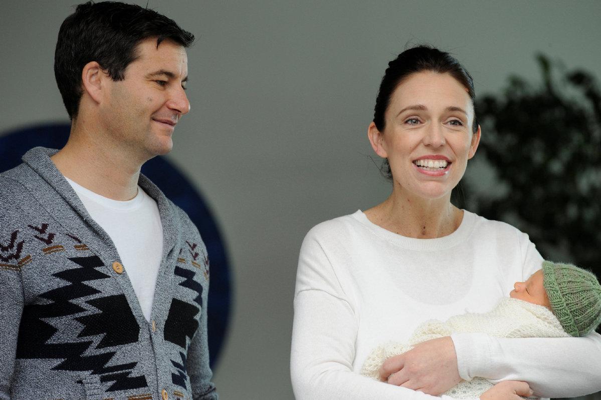 New Zealand leader names daughter Neve, leaves hospital