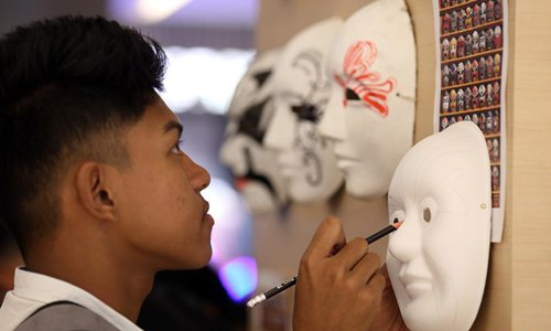 Chinese culture and art show held in Yangon, Myanmar