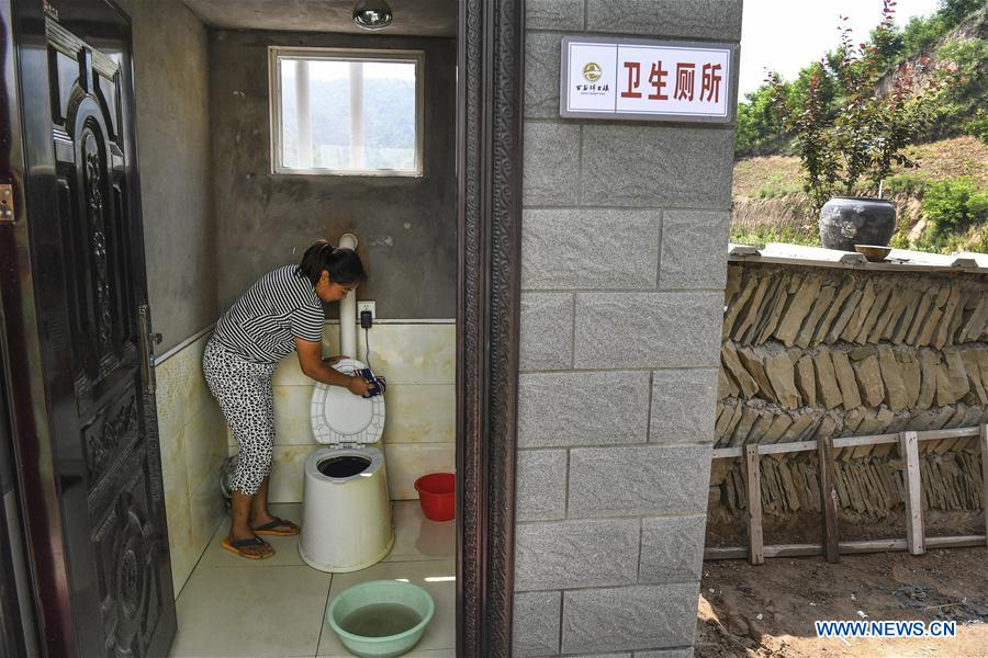 Local government overhauls living environment of Luojiawan Village, NW China