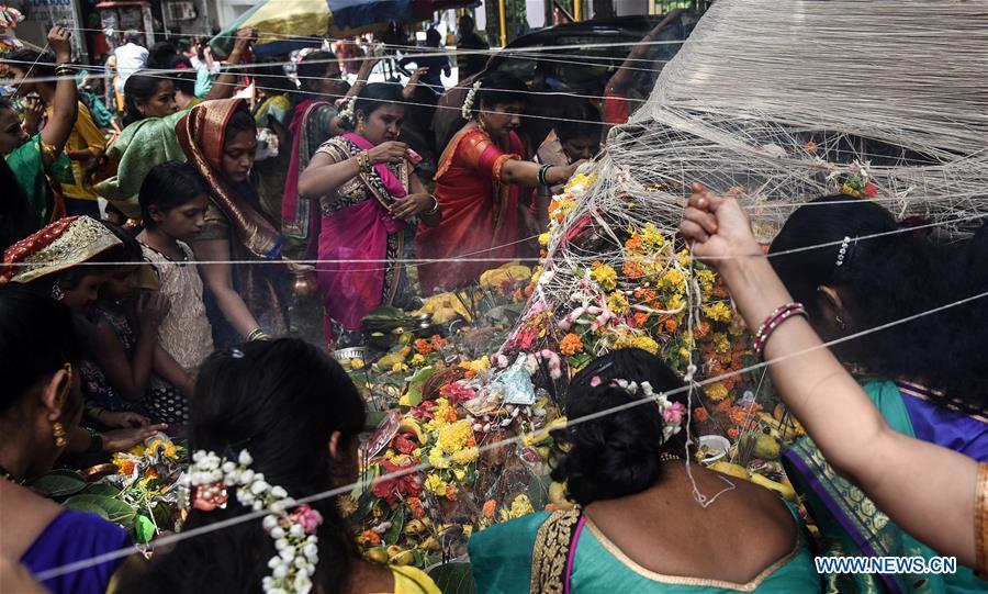 Banyan Tree Worship festival held in Mumbai, India