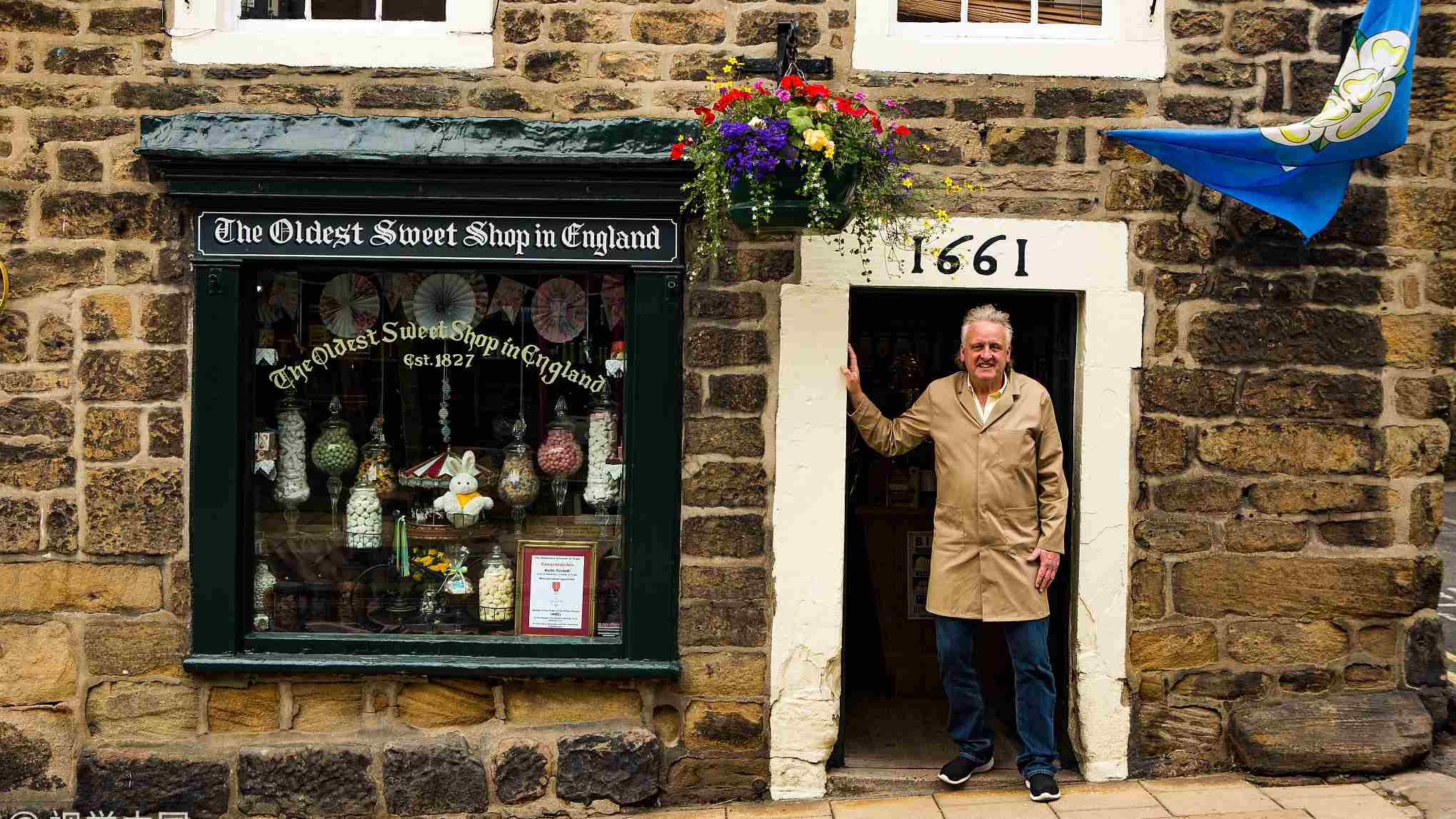 A glimpse of The Oldest Sweet Shop in England