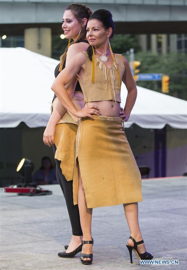 Indigenous designer's creations displayed in Toronto