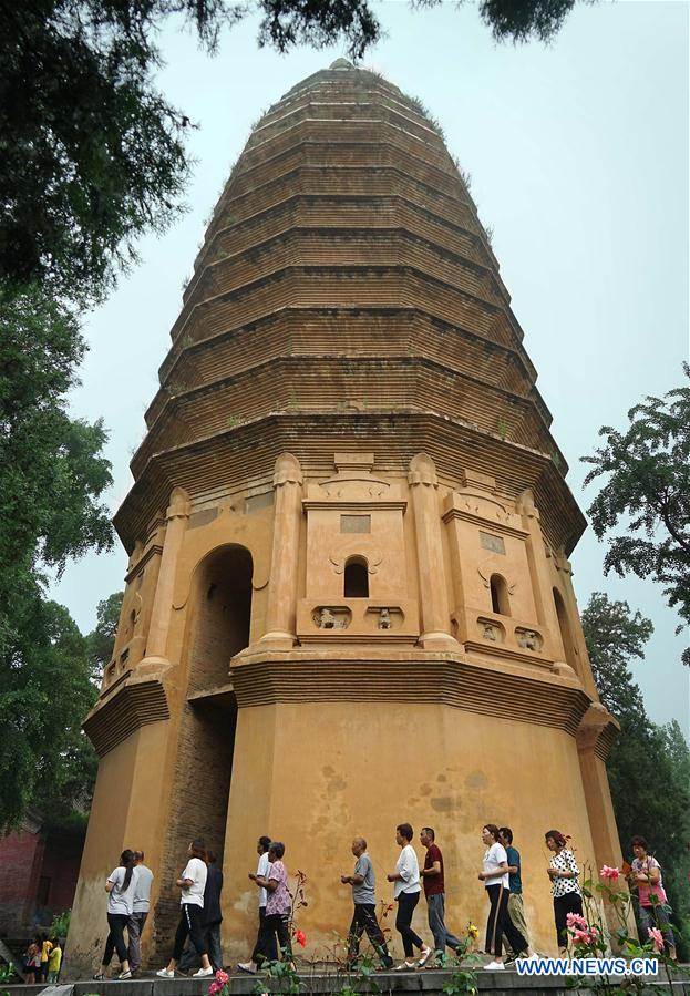 Pagodas in Henan: landmarks for sight-seeing and observers of Chinese history