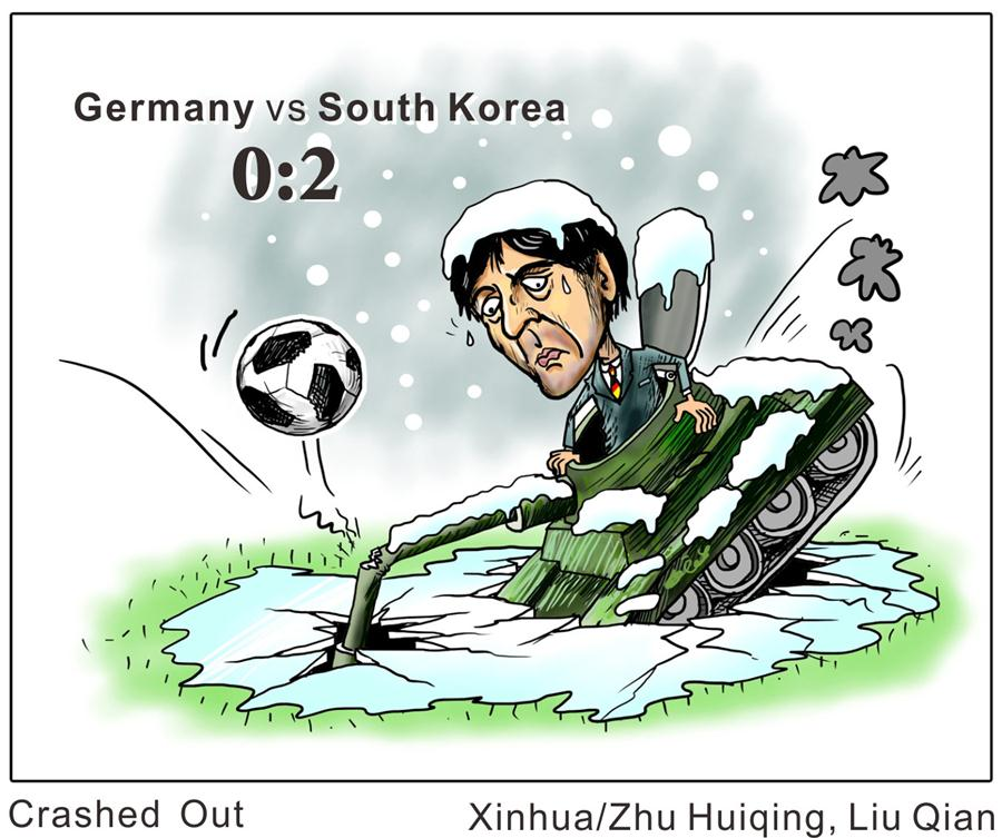 Comics World Cup: Germany vs S. Korea