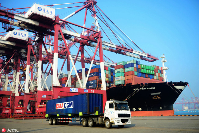 China unveils negative list for foreign investment in FTZs