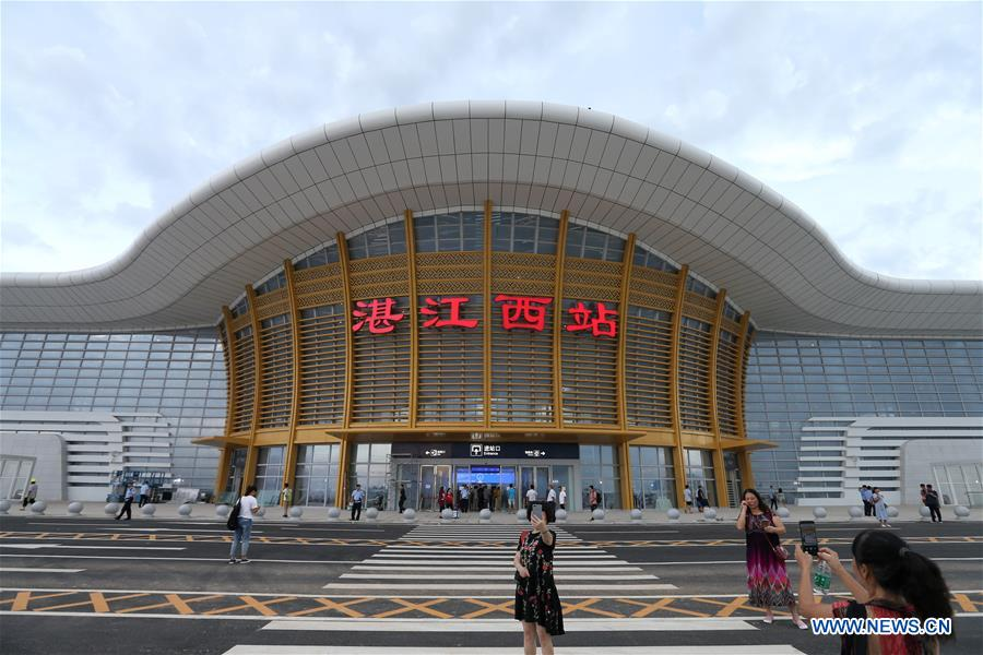 Jiangmen-Zhanjiang railway put into operation