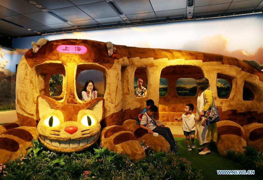 """World of Ghibli in China"" official exhibition held in Shanghai"