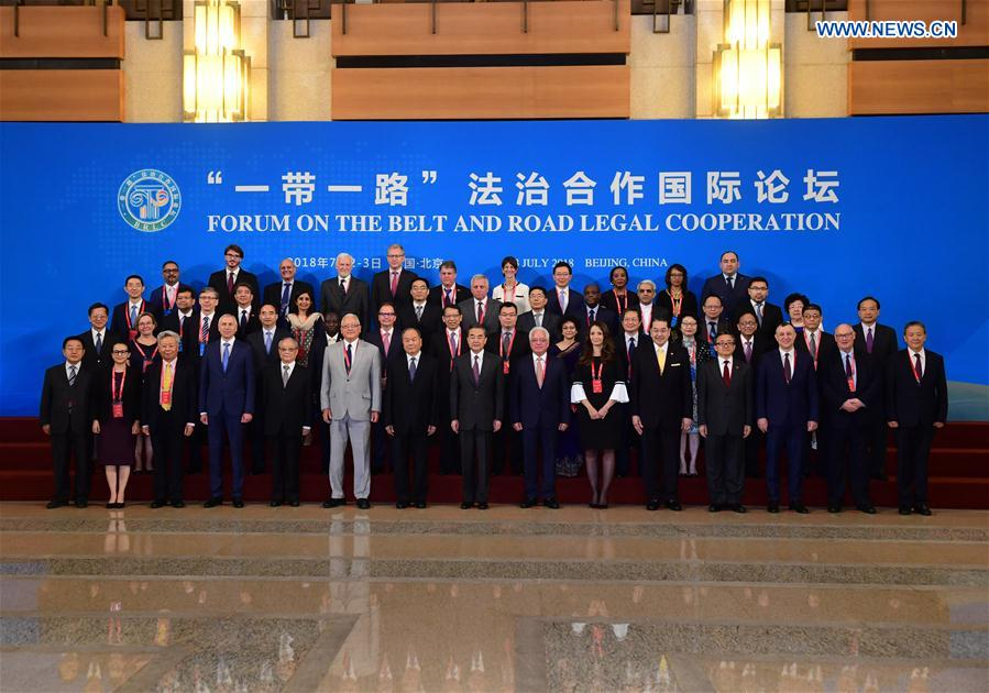 China to deepen legal cooperation with countries and regions under B&R; Initiative