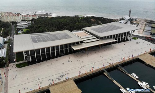 Venue used during 18th SCO summit opens to public in Qingdao