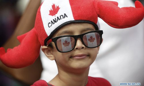 73rd Salmon Festival Parade held in Richmond to celebrate Canada Day