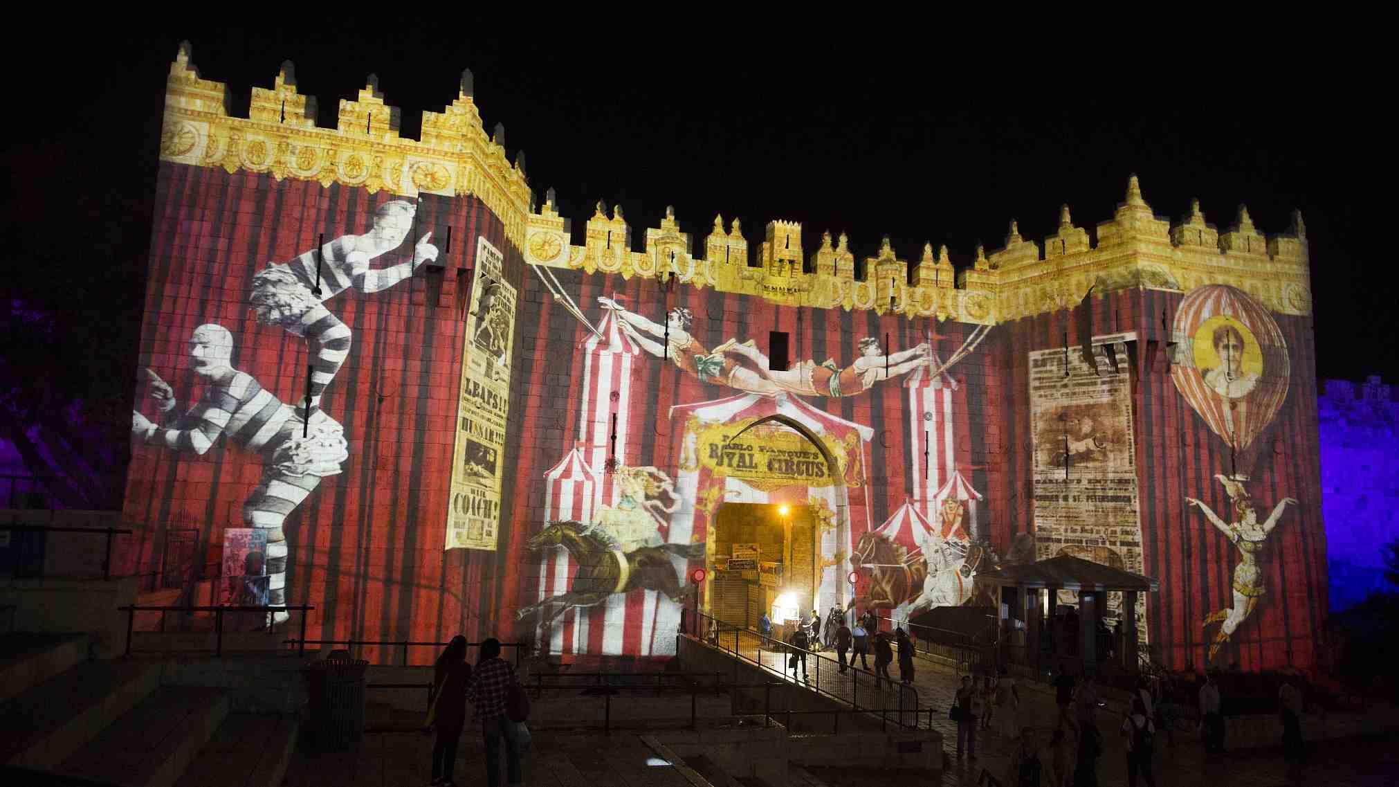 Light festival in Jerusalem celebrates 10th year