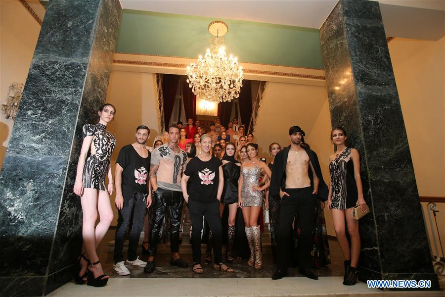 "Creations presented at ""Proussa"" fashion show in Greece"