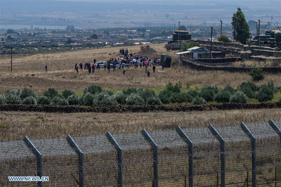 Displaced Syrians from Daraa calls for int'l protection in Israeli-occupied Golan Heights