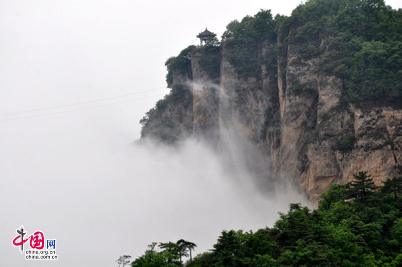 'First Mountain of Taoism' - Kongtong Mountain