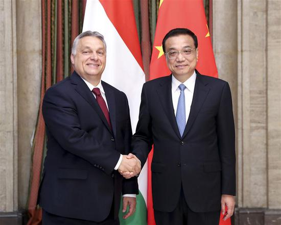 China, Hungary vow to lift ties to higher levels
